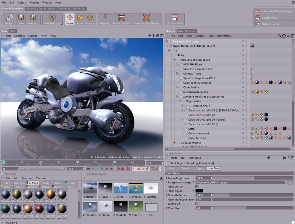 3д-мотоцикл